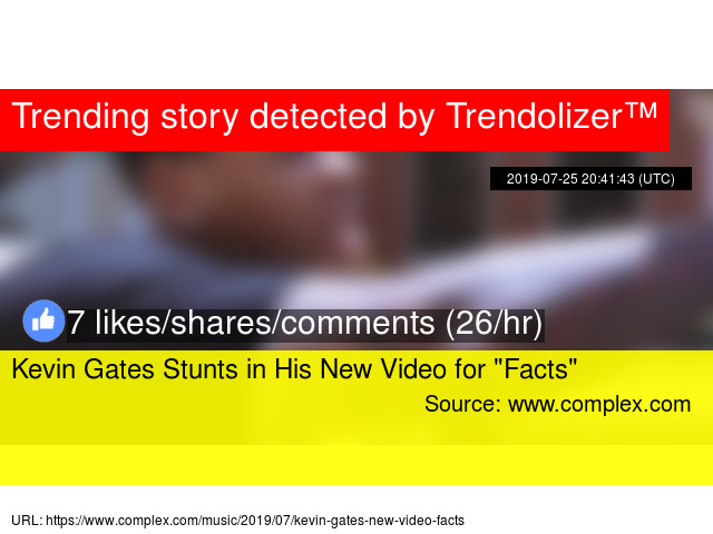 """Kevin Gates Stunts in His New Video for """""""